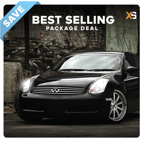 Infiniti G35 HID Xenon Headlight Package Deal