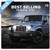 Jeep Wrangler HID Xenon Headlight Package Deal