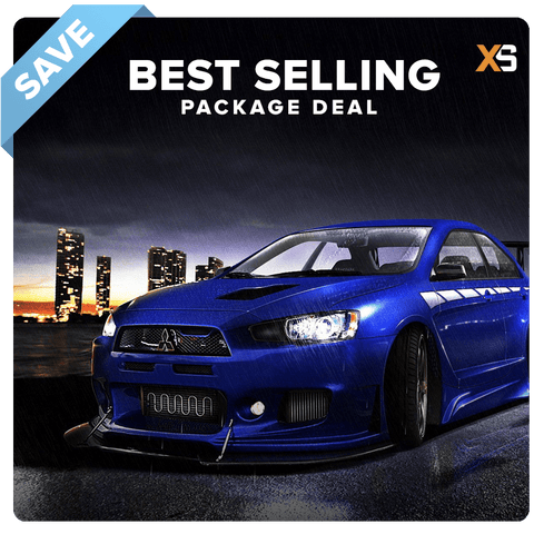 Mitsubishi Lancer HID Xenon Headlight Package Deal