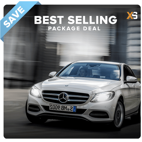 Mercedes C-Class HID Xenon Headlight Package Deal