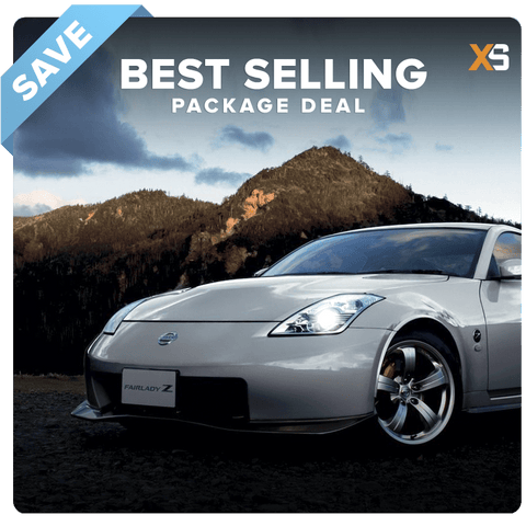 Nissan 350Z HID Xenon Headlight Package Deal