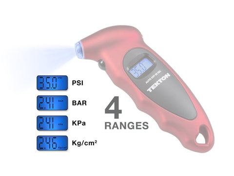 100-PSI Digital Tire Gauge