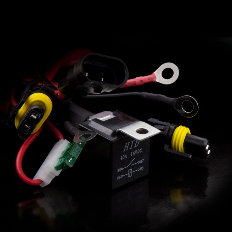 h11 relay wiring harness xenonsupply xs corporation Automotive Relay Schematic accessory relay wiring harness