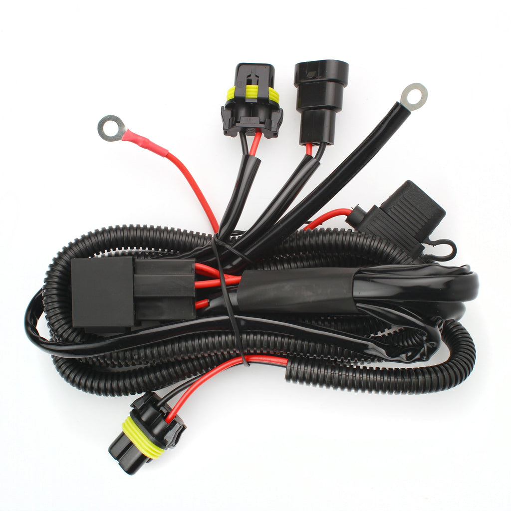 xs hid xenon accessory wiring harness_1024x1024?v=1465418377 9006 relay wiring harness xenonsupply xs corporation Wire Harness Assembly at couponss.co