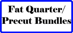 Fat Quarter and Precut Quilt Fabric Bundles