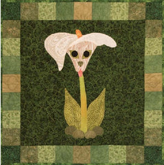 Calla Pup, Dog pattern, dog quilt, Helene Knott, Bloomin Dogs