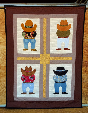 Big Bad Boy Brothers  Pattern - StoryQuilts.com