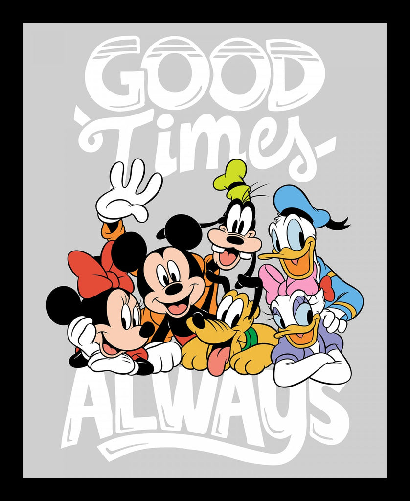 Disney Mickey True Friends Panel