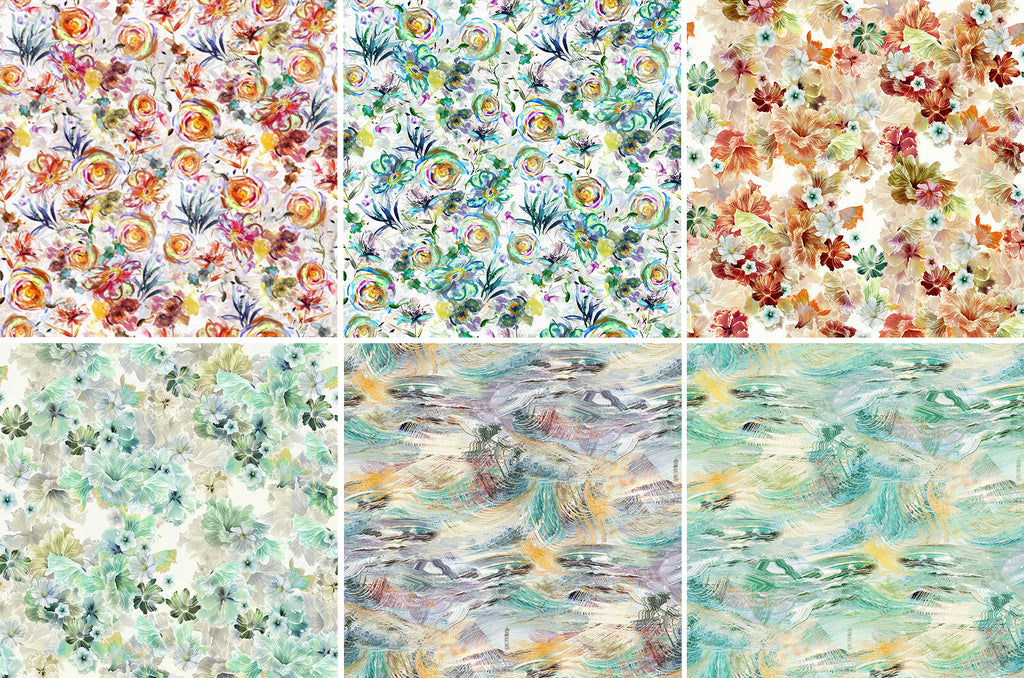 2020 - 2021 Hoffman Challenge Fabrics Fat Quarter Bundle