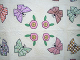 Butterflies and Posies  Pattern - StoryQuilts.com