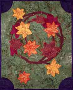 Autumn Leaves  Pattern - StoryQuilts.com