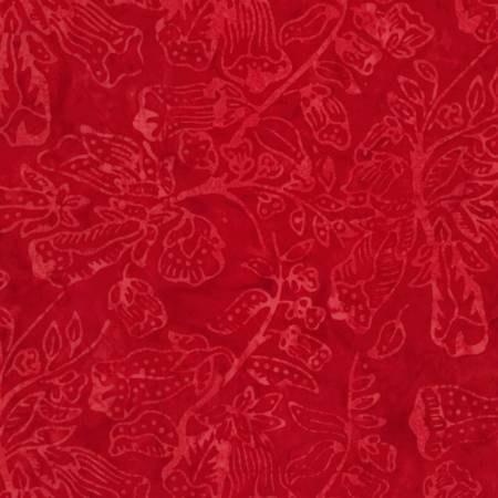 Cherry Batik  Fabric - StoryQuilts.com
