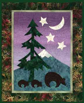 The Bears Went Over the Mountain  Pattern - StoryQuilts.com