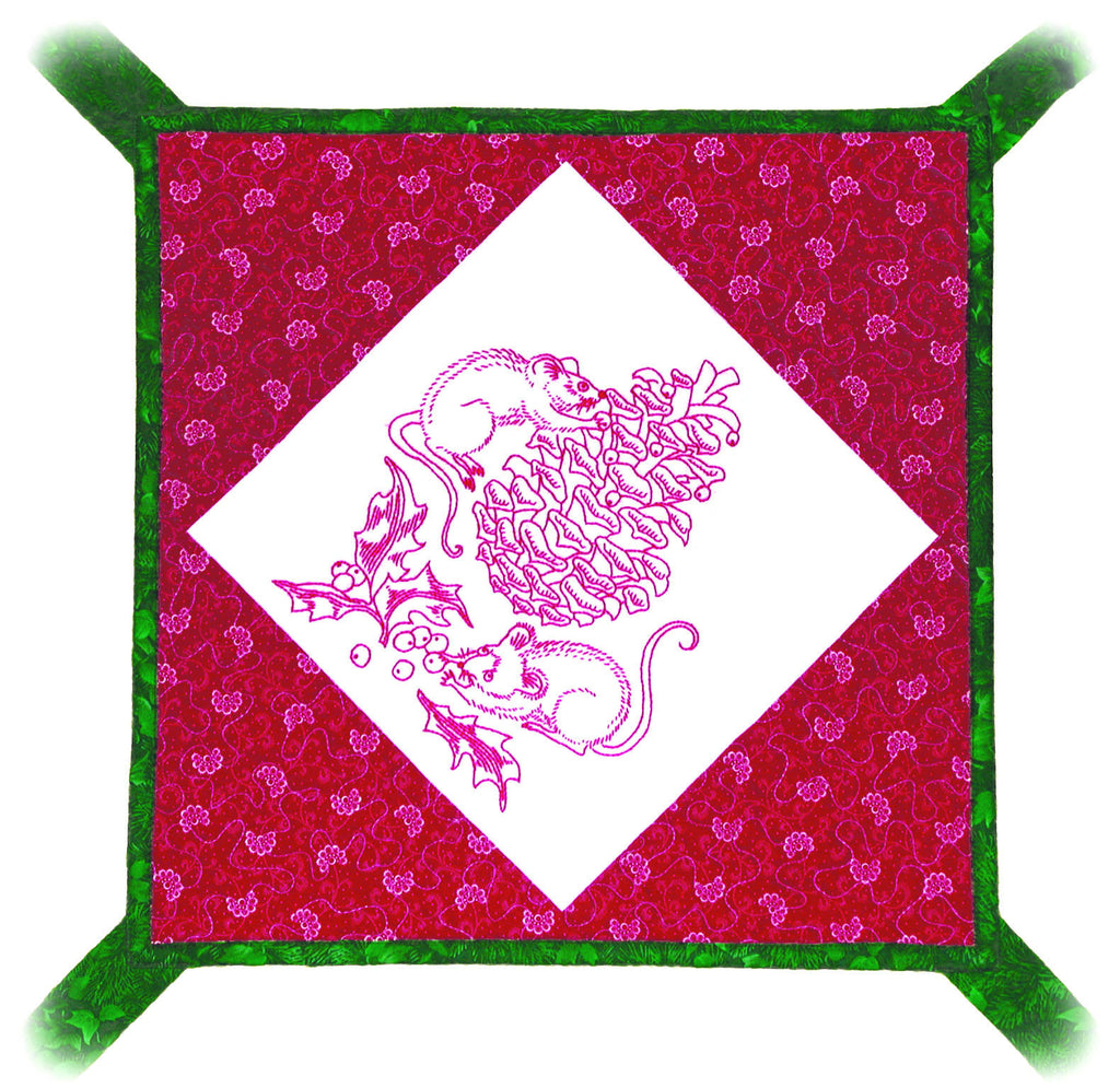 Berry Christmas  Pattern - StoryQuilts.com