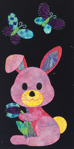 Woodland Critters - 8 Bunny  Pattern - StoryQuilts.com