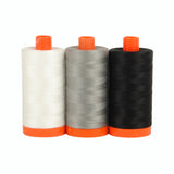 Color Builder 3pc Set Carrara Black/White  Thread - StoryQuilts.com