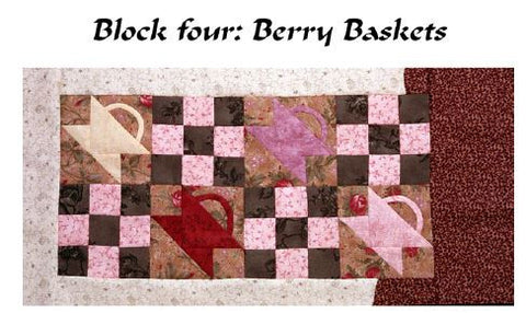 Charlie Kissed Me - Block 4  Pattern - StoryQuilts.com