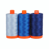 Color Builder 3pc Set Como Blue  Thread - StoryQuilts.com