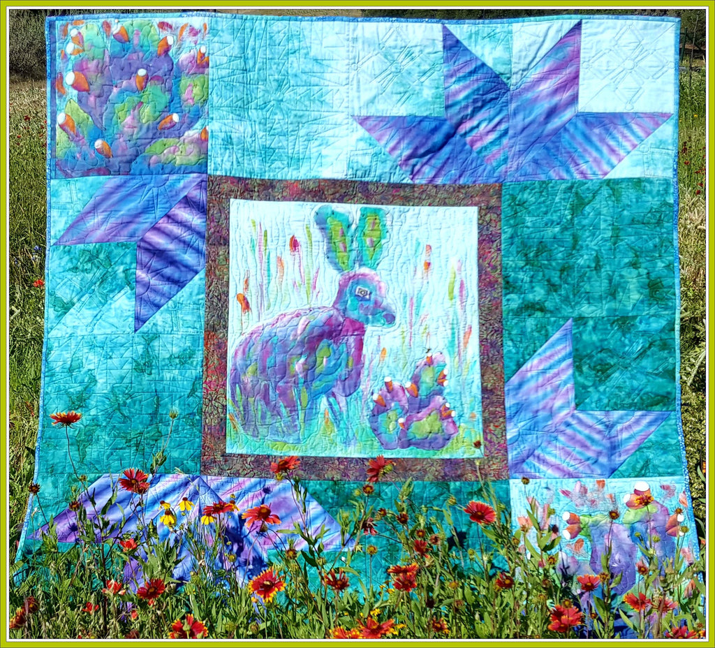 Center Stage  Pattern - StoryQuilts.com
