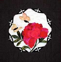 Chinese Peony  Pattern - StoryQuilts.com