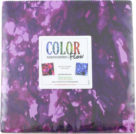 Caryl Bryer Fallert-Gentry Color Flow 10 X 10 Fabric Bundle  Fabric - StoryQuilts.com