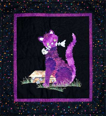 Alley Cat  Pattern - StoryQuilts.com