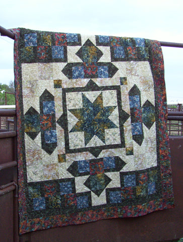 It's About to Get Western  Pattern - StoryQuilts.com