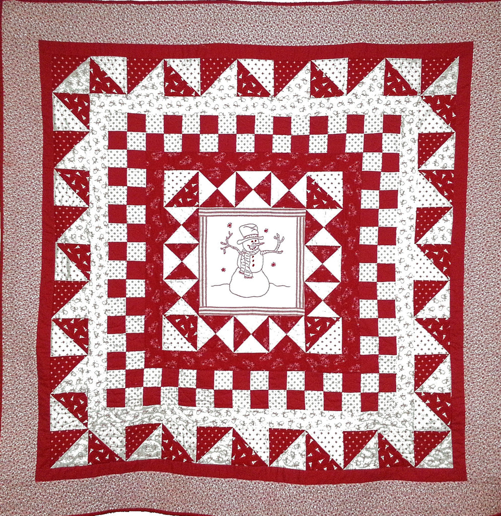 Frosty Morning  Pattern - StoryQuilts.com