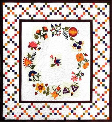 quilt pattern, applique, vintage quilts