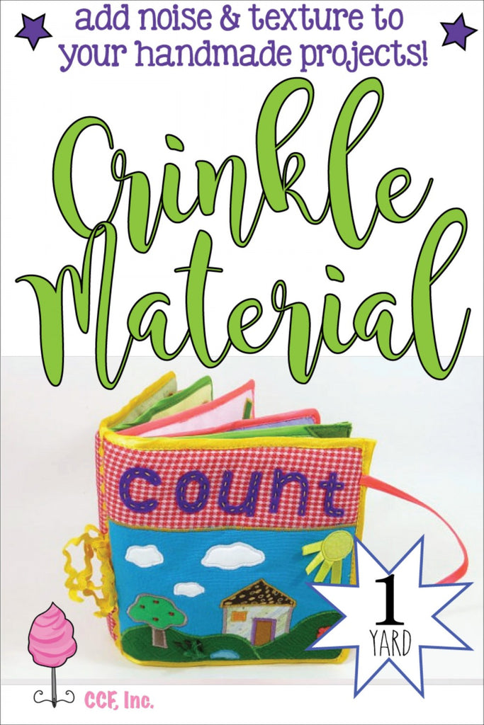 Crinkle Material  Notion - StoryQuilts.com
