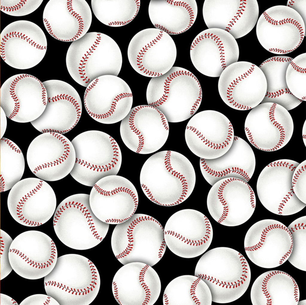 Grey Packed Baseballs