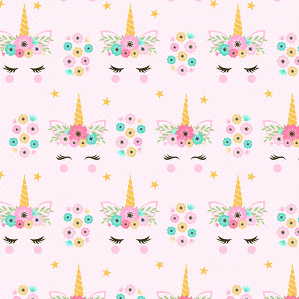 Hide & Seek Unicorn 1 yd cut