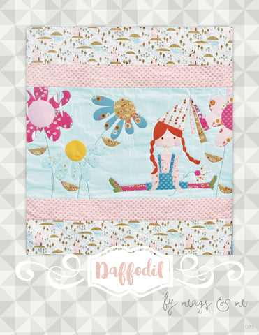Daffodil by Meags and Me  Pattern - StoryQuilts.com
