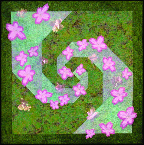 Dancing Blossoms  Pattern - StoryQuilts.com