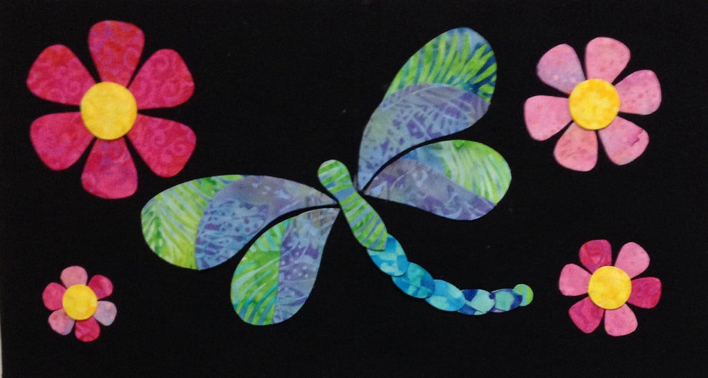 Woodland Critters - 7 Dragonfly  Pattern - StoryQuilts.com