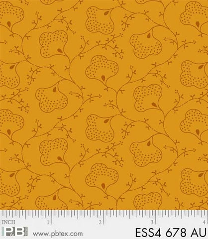Gold Scroll Flowers -Bear Essentials 4