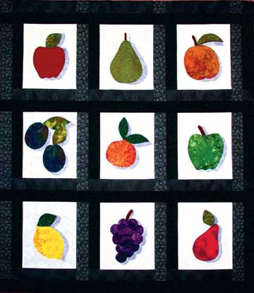 Fruit for Thought  Pattern - StoryQuilts.com