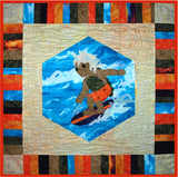 Turtle Surfs Up  Pattern - StoryQuilts.com