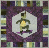 Turtle Catching Air  Pattern - StoryQuilts.com