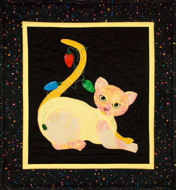Christmas Cat-astrophe  Pattern - StoryQuilts.com