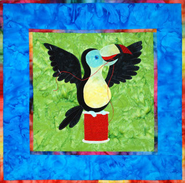 Toucan - Sewing Birds  Pattern - StoryQuilts.com