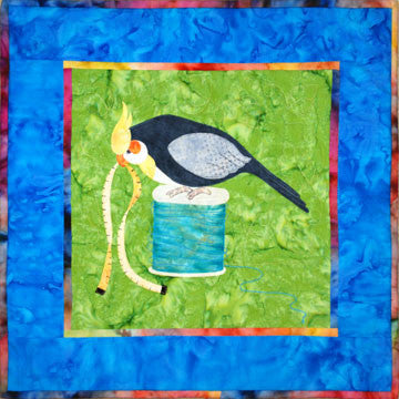Cockatiel - Sewing Birds  Pattern - StoryQuilts.com