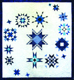 Galaxy Quest - 4 Wyoming Star  Pattern - StoryQuilts.com