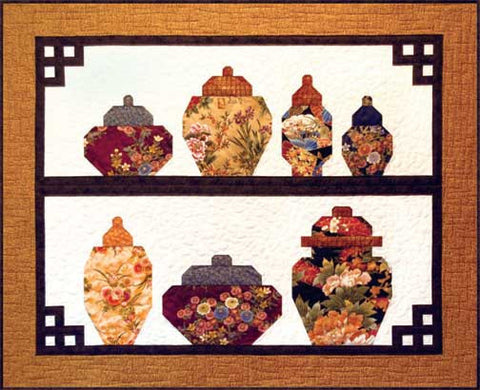 Ginger Jars  Pattern - StoryQuilts.com