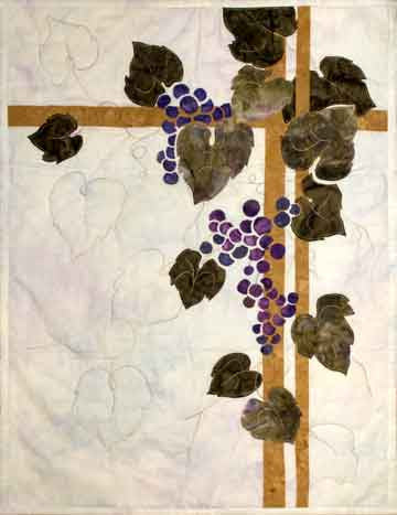Grape Vine - Trellis Quilts  Pattern - StoryQuilts.com