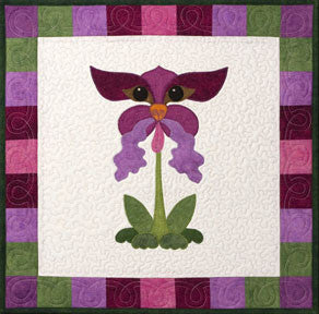 Orchid Terrier  Pattern - StoryQuilts.com