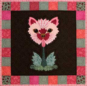 Dianthus Doggie  Pattern - StoryQuilts.com