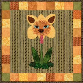 Daffi-Dog  Pattern - StoryQuilts.com