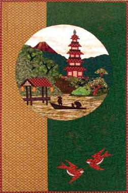 Pagoda  Pattern - StoryQuilts.com