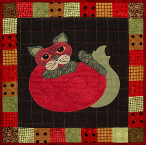Tom-ato - Garden Patch Cats  Pattern - StoryQuilts.com